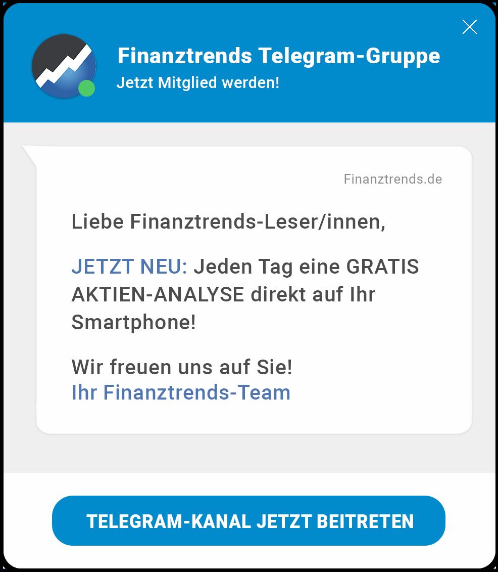 Finanztrends auf Telegram