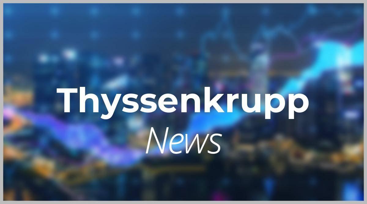 Thyssenkrupp Aktie Aktuell