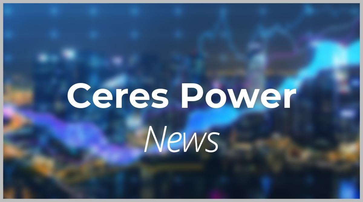 Ceres Power Unternehmen