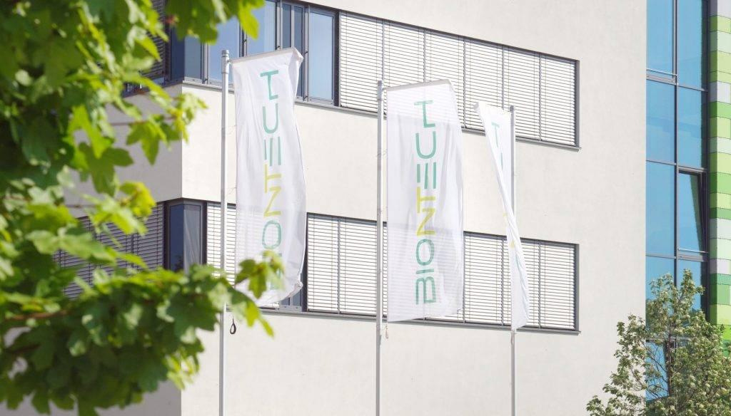 BioNTech-Zentrale in Mainz