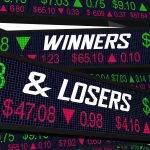 Stock Ticker Winners Losers