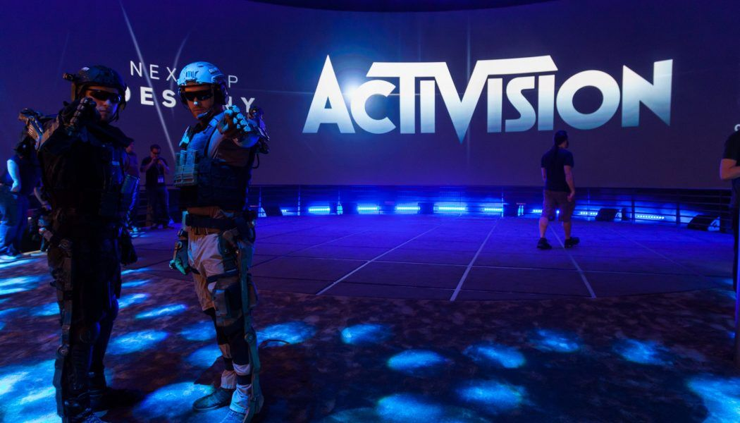 Activision Messestand